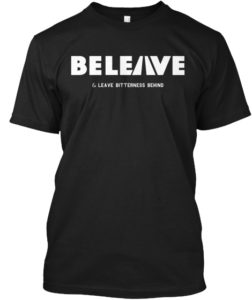 Be Leave Shirt Mock up